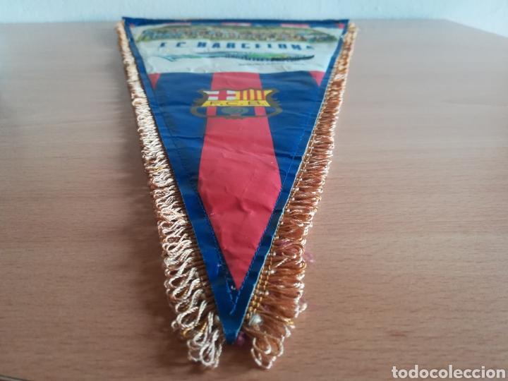 Coleccionismo deportivo: Banderin grande FC Barcelona Estadio Camp Nou Pequeño historial - Cruyff - fútbol Barça culé - Foto 16 - 128142104