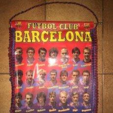 Coleccionismo deportivo: ANTIGUO BANDERÍN FC BARCELONA LIGA 1995. Lote 128976343
