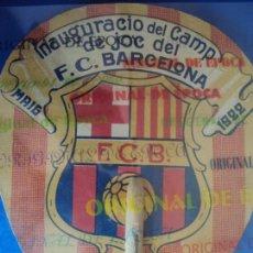 Coleccionismo deportivo: (F-180802)PAI PAI INAGURACIO DEL CAMP DE JOC DE LES CORTS,F.C.BARCELONA MAIG 1922. Lote 129971059