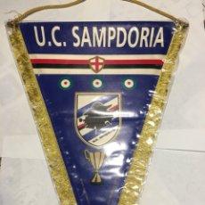 Coleccionismo deportivo: BANDERÍN FÚTBOL U.C.SAMPDORIA CAMPEÓN RECOPA EUROPA. Lote 130121507