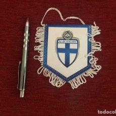 Coleccionismo deportivo: BANDERIN FEDERACION FUTBOL FINLANDESA FINLANDIA. Lote 130217827