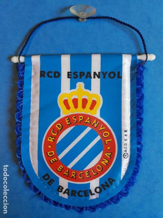 BANDERIN DEL RCD ESPANYOL ESPAÑOL (Coleccionismo Deportivo - Banderas y  Banderines de Fútbol) c0f7d269088