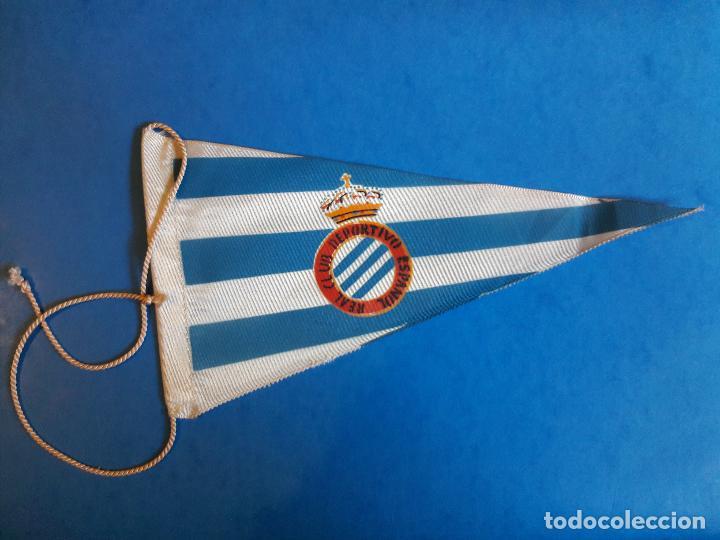 BANDERIN DEL RCD ESPANYOL ESPAÑOL AÑOS 60 (Coleccionismo Deportivo -  Banderas y Banderines de Fútbol 71e136cc08b