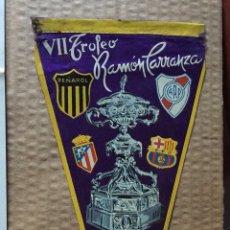 Coleccionismo deportivo: BANDERÍN VII TROFEO RAMÓN CARRANZA,( CÁDIZ 1961). Lote 131874743
