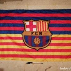 Coleccionismo deportivo: BANDERA - FUTBOL CLUB BARCELONA - FUTBOL - BARÇA - FC. Lote 132254058