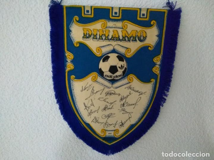 Coleccionismo deportivo: BANDERIN FUTBOL FC DINAMO DE KIEV - Foto 2 - 132422974
