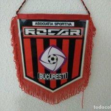 Coleccionismo deportivo: BANDERIN FUTBOL RUMANIA BUCAREST BUCARESTI. Lote 132460038