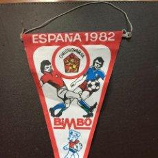 Coleccionismo deportivo: BIMBO BANDERIN MUNDIAL ESPAÑA 1982 SELECCION CHECOSLOVAQUIA QUINCOCES. Lote 132623154