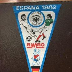 Coleccionismo deportivo: BIMBO BANDERIN MUNDIAL ESPAÑA 1982 SELECCION ALEMANIA QUINCOCES. Lote 132623494