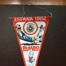 Coleccionismo deportivo: BIMBO BANDERIN MUNDIAL ESPAÑA 1982 SELECCION HUNGRIA QUINCOCES. Lote 132623662