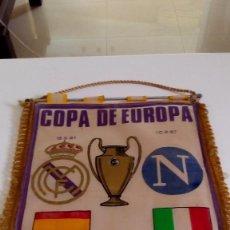 Coleccionismo deportivo: BANDERINES MADRID 42X30. Lote 136822010