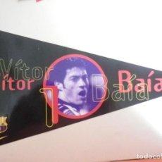 Coleccionismo deportivo: F.C BARCELONA BARÇA 1998 BANDERINES / PEGATINAS DIARIO SPORT VITOR BAIA. Lote 137137794