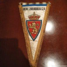Coleccionismo deportivo: BANDERIN REAL ZARAGOZA. Lote 137228497