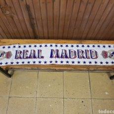 Coleccionismo deportivo: BUFANDA REAL MADRID. Lote 137629758