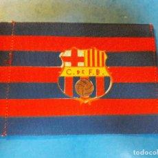 Coleccionismo deportivo: PEQUEÑA BANDERA DEL FC BARCELONA AÑOS 50-60. Lote 137889110