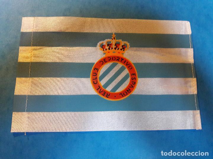 PEQUEÑA BANDERA DEL RCD ESPANYOL AÑOS 50-60 (Coleccionismo Deportivo -  Banderas y Banderines 9ac27d9d25e