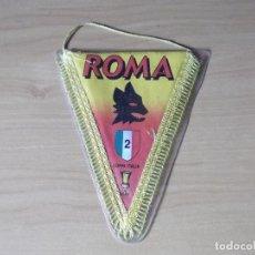 Coleccionismo deportivo: BANDERINES-ITALIA-ROMA-18CM. Lote 140012262