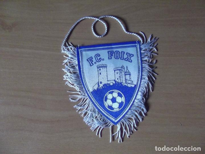 BANDERINES-FRANCIA-F.C.FOIX-10CM (Coleccionismo Deportivo - Banderas y Banderines de Fútbol)