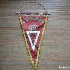 Coleccionismo deportivo: BANDERÍN VINTAGE. CLUB REAL MURCIA.. Lote 140618290