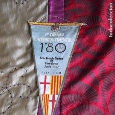 Coleccionismo deportivo: BANDERINES-BARCELONA-1967-37X17CM. Lote 140835578