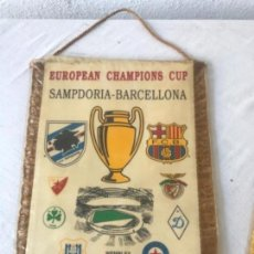 Coleccionismo deportivo: BADENRIN DE LA FINAL DE LA COPA DE EUROPA DE 1992. FC. BARCELONA - SAMPDORIA. WEMBLEY . Lote 141669514