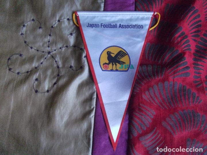 BANDERINES-SIGLOXX-V39-I-JAPAN FOOTBALL ASSOCIATION-26X14CM (Coleccionismo Deportivo - Banderas y Banderines de Fútbol)