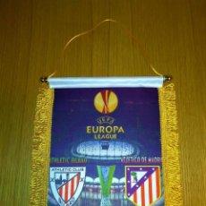 Coleccionismo deportivo: BANDERIN ATLÉTICO DE MADRID-ATH.BILBAO FINAL EUROPA LEAGUE 2012. Lote 142984906
