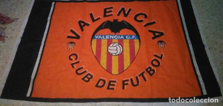 BANDERA DEL VALENCIA (Coleccionismo Deportivo - Banderas y Banderines de Fútbol)