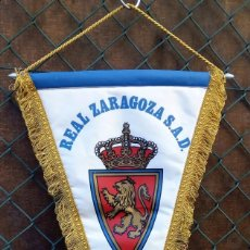 Coleccionismo deportivo: REAL ZARAGOZA. S.A.D ** BANDERIN. Lote 144408462