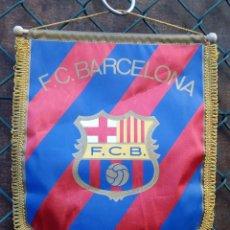 Coleccionismo deportivo: BANDERIN FUTBOL CLUB BARCELONA. Lote 144591514
