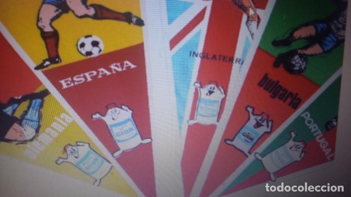 Coleccionismo deportivo: MUNDIAL 1966 INGLATERRA -LOTE DE 16 BANDERINES DEL MUNDIAL - POR SELECCIONES - Foto 2 - 144658750