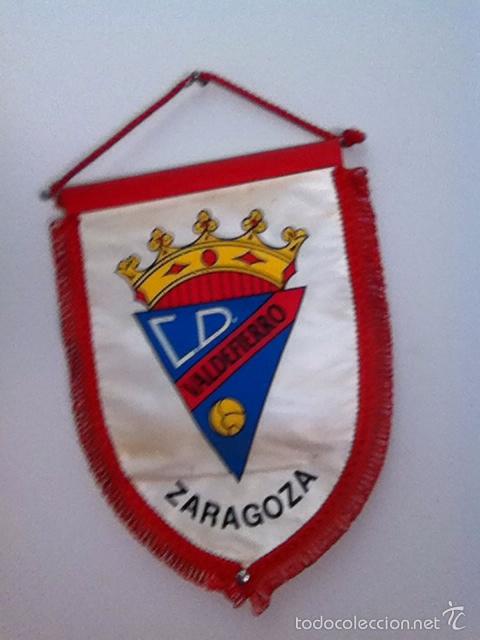 C.D. VALDEFIERRO. BANDERÍN ANTIGUO (Coleccionismo Deportivo - Banderas y Banderines de Fútbol)