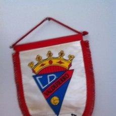 Coleccionismo deportivo: C.D. VALDEFIERRO. BANDERÍN ANTIGUO. Lote 145718997
