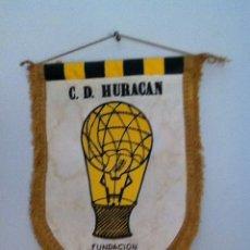 Coleccionismo deportivo: C.D HURACÁN. ANTIGUO BANDERÍN. Lote 145719938