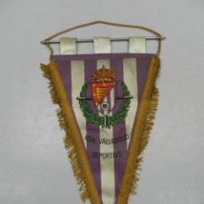 Coleccionismo deportivo: BANDERIN DE REAL VALLADOLID DEPORTIVO. Lote 146234010