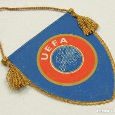 Coleccionismo deportivo: PRECIOSO BANDERIN DE UEFA. Lote 146234674