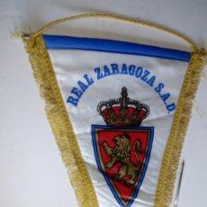 Coleccionismo deportivo: BANDERIN DEL REAL ZARAGOZA MEDIDA 37 X 55. Lote 146277582