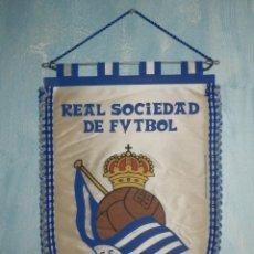 Coleccionismo deportivo: BANDERIN - REAL SOCIEDAD DE FUTBOL . Lote 147662606