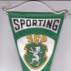 Coleccionismo deportivo: BANDERIN DEL SCP SPORTING DE PORTUGAL CAMPEON NACIONAL 1969-70. Lote 148053694