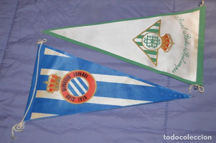 Coleccionismo deportivo: Vintage - LOTE DE 5 BANDERINES DE FÚTBOL - ANTIGUOS - VARIADOS - MIRA LAS FOTOS - ENVÍO 24H - Foto 2 - 150159706