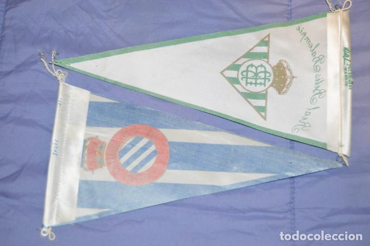 Coleccionismo deportivo: Vintage - LOTE DE 5 BANDERINES DE FÚTBOL - ANTIGUOS - VARIADOS - MIRA LAS FOTOS - ENVÍO 24H - Foto 3 - 150159706
