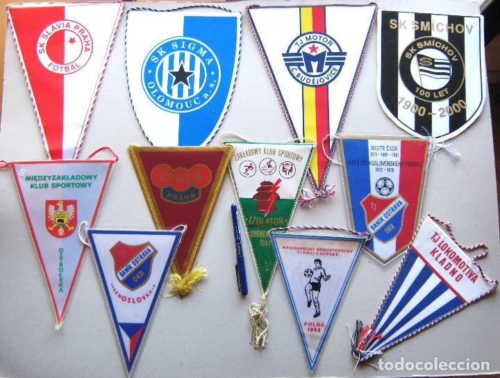11 BANDERIN PENNANT REPUBLICA CHECA CESKA CZECH REPUBLIC TEAMS WIMPEL L52 (Coleccionismo Deportivo - Banderas y Banderines de Fútbol)