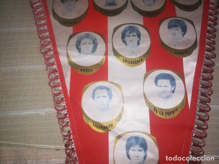 Coleccionismo deportivo: BANDERIN ATHLETIC CLUB DE BILBAO AÑOS 80 - MEDIDA 49 CM - Foto 2 - 150922774
