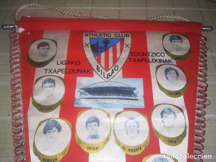 Coleccionismo deportivo: BANDERIN ATHLETIC CLUB DE BILBAO AÑOS 80 - MEDIDA 49 CM - Foto 9 - 150922774