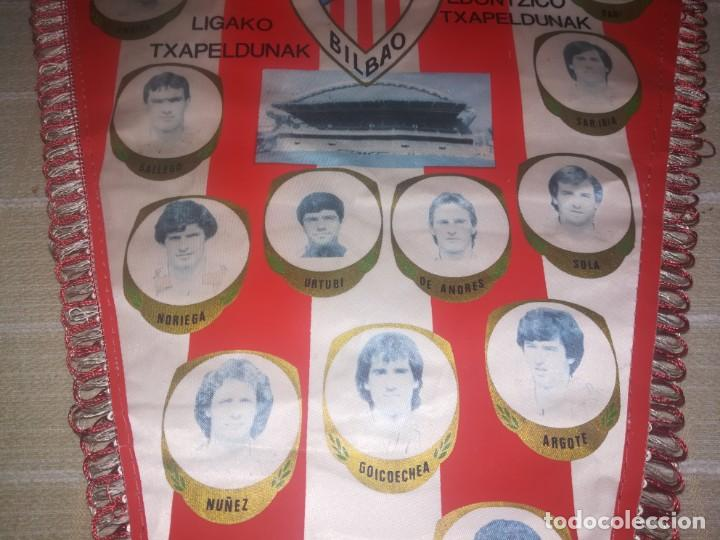 Coleccionismo deportivo: BANDERIN ATHLETIC CLUB DE BILBAO AÑOS 80 - MEDIDA 49 CM - Foto 11 - 150922774