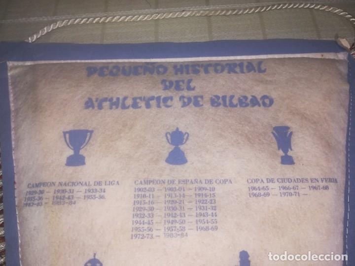 Coleccionismo deportivo: BANDERIN ATHLETIC CLUB DE BILBAO AÑOS 80 - MEDIDA 49 CM - Foto 14 - 150922774