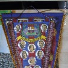 Coleccionismo deportivo: BANDERÍN F.C. BARCELONA CAMPEÓN DE LIGA 1973/74. Lote 151642482