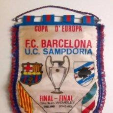 Coleccionismo deportivo: BANDERÍN FC BARCELONA. Lote 152293210