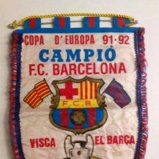 Coleccionismo deportivo: BANDERÍN FC BARCELONA. Lote 152293326