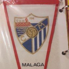 Coleccionismo deportivo: MALAGA BANDERIN FUTBOL VINTAGE. Lote 152730869